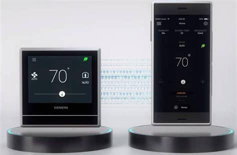 siemens smart home smart thermostat building technologies siemens