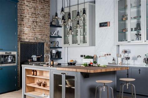 cuisine cagne chic cuisine industrielle 43 inspirations pour un style