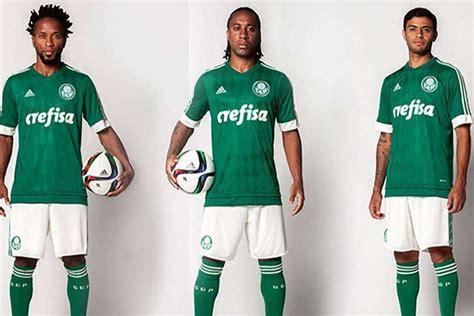 Palmeiras lança nova camisa com losangos usados pelo ...