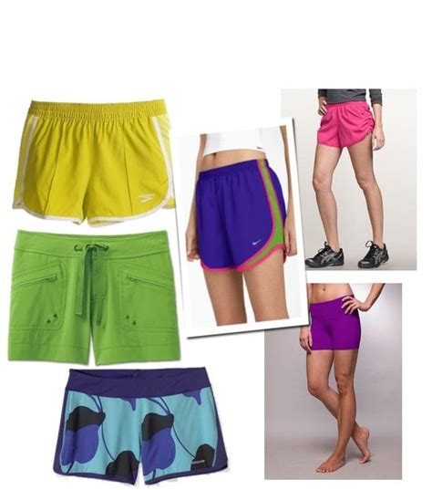 colorful shorts bright colorful running shorts popsugar fitness