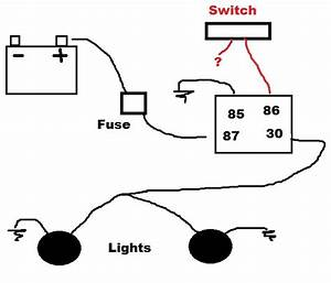 Off Road Lights  Wiring Off Road Lights Without Relay