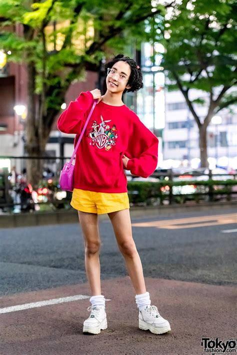 colorful  inspired streetwear  looney tunes peco club wc harajuku yosuke
