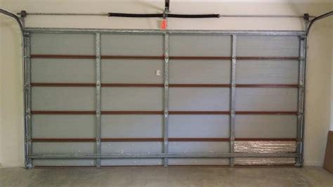 installing garage door insulation garage ideas insulating a garage your house