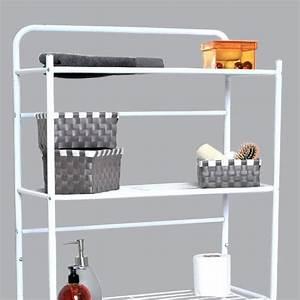 Meuble De Rangement Wc : meuble rangement serviette salle de bain survl com ~ Teatrodelosmanantiales.com Idées de Décoration