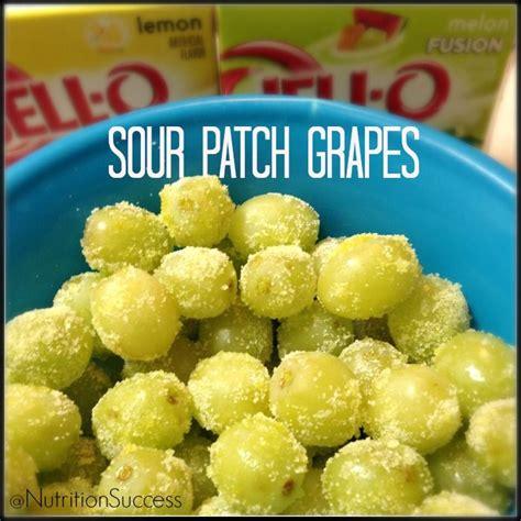 Sour Patch Grapes Delicious Healthy Dessert Healthy