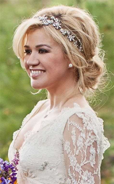 ideas  wedding headband hairstyles