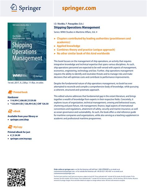 Ship Operations And Management Pdf by Pdf Shipping Operations Management