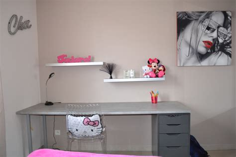 bureau ado ikea chambre de ma fille ado photo 5 12 grand bureau fait