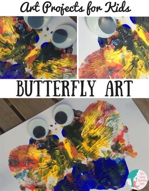 art projects  kids butterfly art lizs early learning spot