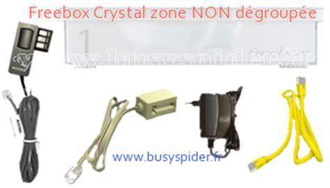 mat 233 riel colis freebox v5 crystal boitier 1 adsl zone non d 233 group 233 e