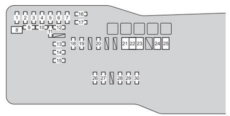 2010 Toyotum Venza Fuse Box by Venza Interior Fuse Box Brokeasshome