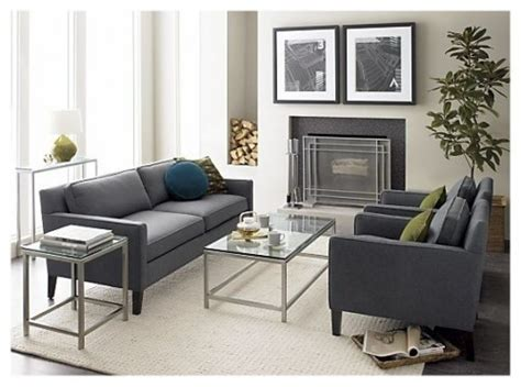 Vaughn Apartment Sofa by 1000 Ideas About Gray Sofa On Grey Sofas