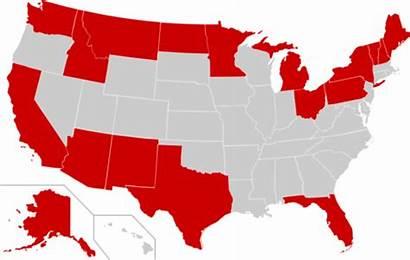 Border States United International Map Florida Shares