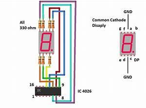 Digital Stopwatch Circuit Diagram Using Ics  U2013 Diy