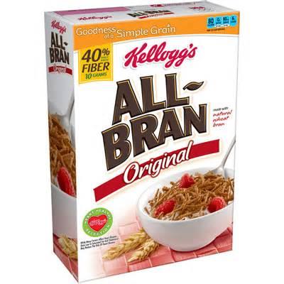High-Fiber Bran Cereal