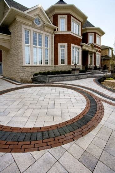 Unilock Driveway - 6 ideas for adding a touch of color to your driveway unilock