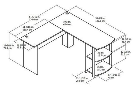 Walmart L Shaped Desk Dimensions by Dorel L Shaped Desk Walmart Ca