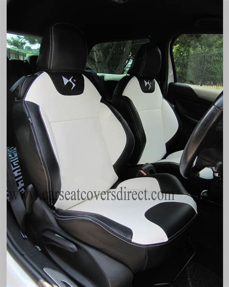 ds seat covers black white