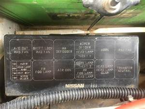 Nissan Patrol Gq Fuse Box Diagram