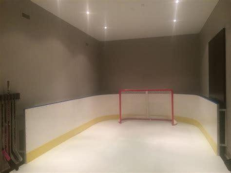 Garage Basement Rinks Hockey Boards Synthetic Ice
