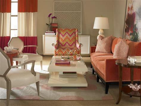 canape orange  meuble original pour le salon