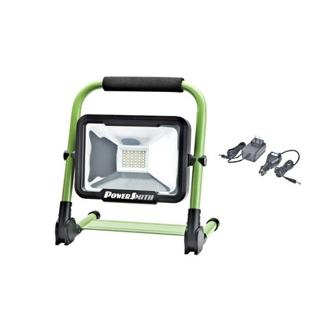 snap on rechargeable work light designers edge high intensity green 24 led portable work