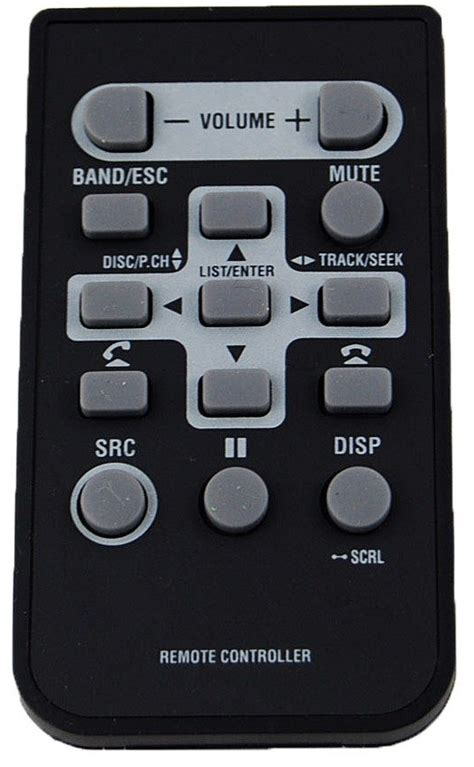pioneer head unit replacement remote control