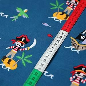 Jersey Stoffe Kinder : jersey stoff piraten insel piratenschiff auf blau guenstiger ~ Markanthonyermac.com Haus und Dekorationen