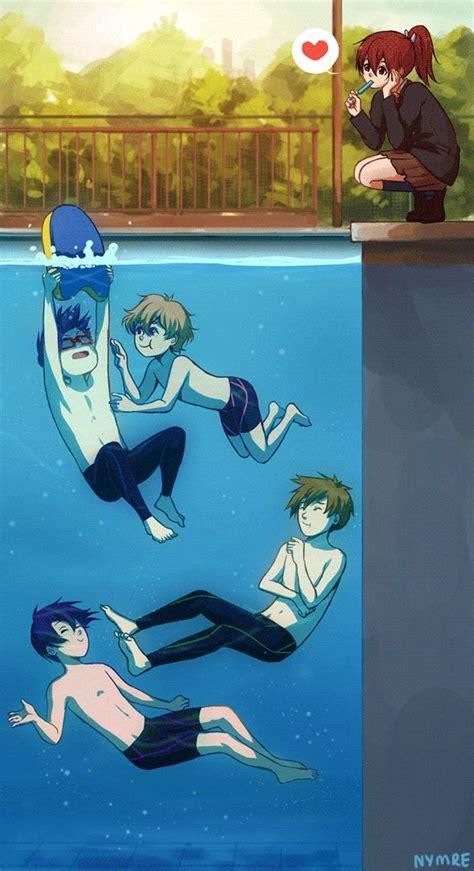 Free Iwatobi Swim Club 』 Anime Pinterest