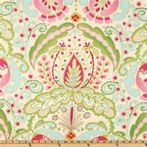 designer fabrics kumari garden teja pink multi discount designer fabric fabric