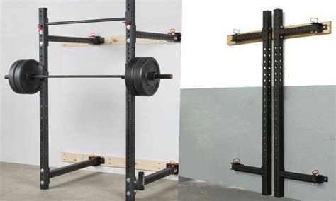 folding wall squat rack fitmus
