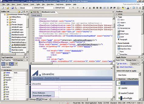 microsoft sharepoint designer customizing and branding web content management enabled