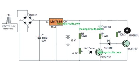 simple  battery circuit  indicator