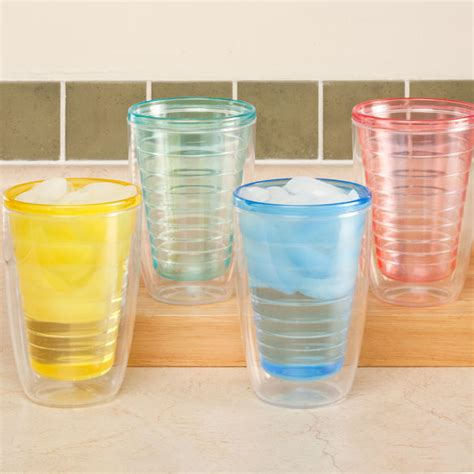durable kitchen table insulated tumblers set of 4 insulated tumblers walter