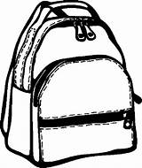 Backpack Coloring Pages Education Clipart Clip Abby Hatcher Paper Button Using sketch template