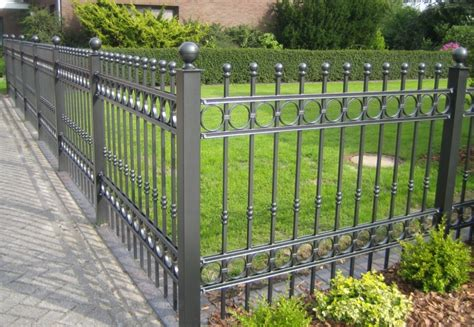 privacy decorative metal fence panels design ideas