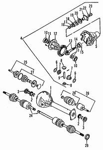 Es 2377  Isuzu Trooper Front Drive Axle Assembly And Part