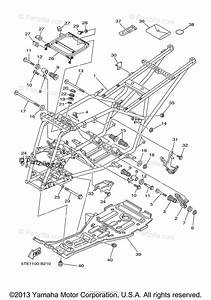 Yamaha Atv 2003 Oem Parts Diagram For Frame
