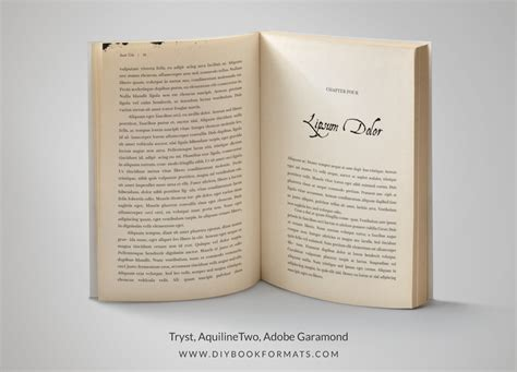 Indesign Templates For Books by Diy Book Formats Book Design Free Formatting Templates