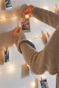 Idee Für Fotowand : die besten 17 ideen zu lichterketten auf pinterest schlafzimmer lichterkette lichterketten ~ Markanthonyermac.com Haus und Dekorationen