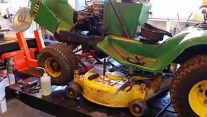 John Deere 111 Part 2  Tractor Gets A  20 00 Briggs Engine Swap  Was It  20 00 Well Spent