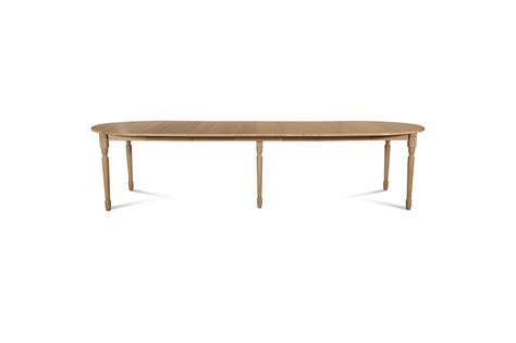 Table Ovale Extensible 12 Personnes