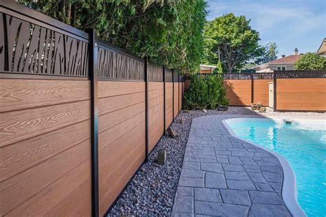 composite fence ezfence elite  composite fence  canada  usa