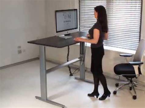 biomorph els standing desk youtube