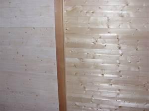 deco notre cabane en bois With lasure blanche parquet