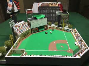 Tabletop Baseball by Woodstock Field Strat O Matic Customized Stadium Strat O Matic The Original Fantasy Sports