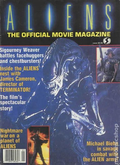 aliens official  magazine  oquinn comic books