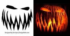 10, Free, Printable, Scary, Halloween, Pumpkin, Carving, Patterns, Stencils, U0026, Ideas, 2015