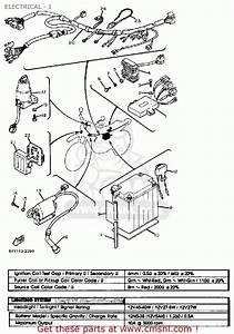 Yamaha Xt550 Dual Purpose 1983  D  Usa Electrical