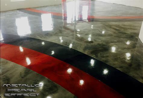garage floor paint vs epoxy we review rocksolid s metallic garage floor coating all garage floors